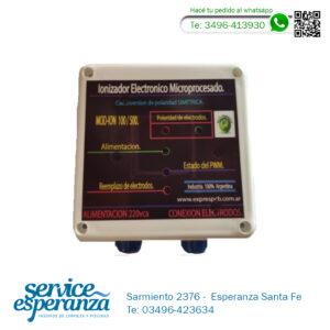 Ionizador Eléctrico Microprocesado